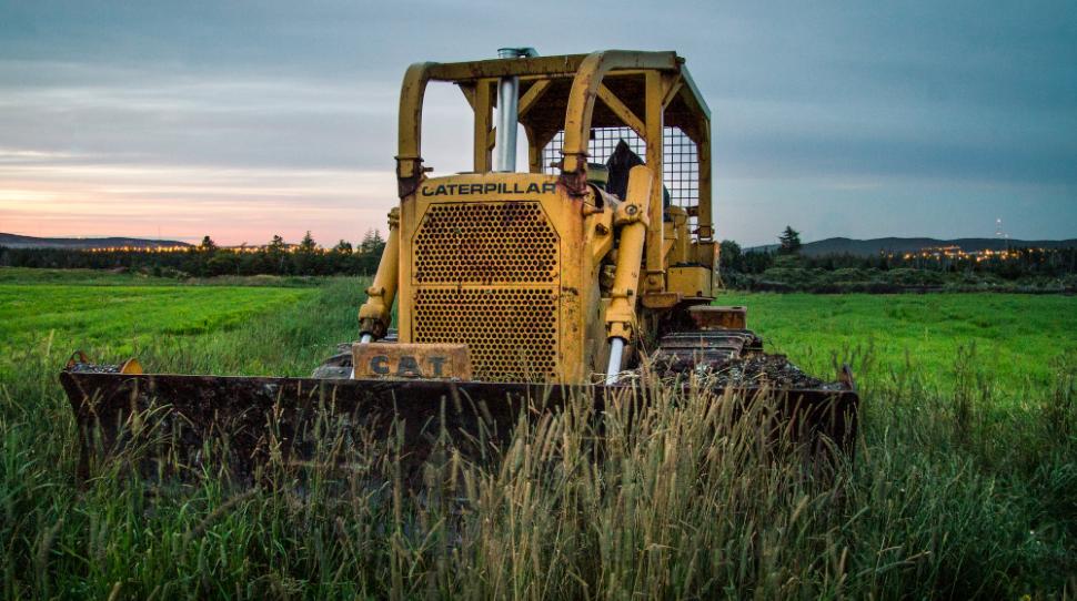 Eine Traktor und Anbaugeräte Verbindung